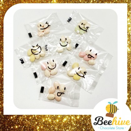 Beehive Chocolate Smiley Sugar Free Mints [1 pack]